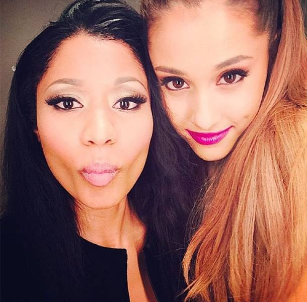 Ariana Grande y Nicki Minaj se presentarán en la inauguración de una arena en Las Vegas.