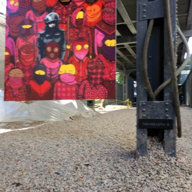 Banksy's New Pieces In New York City With Os Gemeos For Better Out Than In. Day 18 2