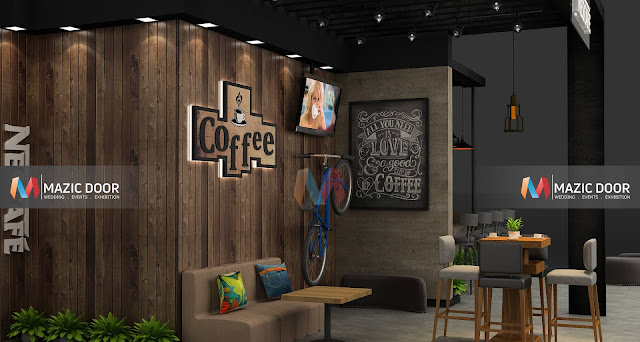Mazicdoor Coffee Shop Stall Design 4