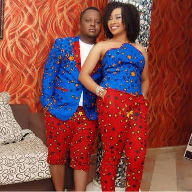 couples ankara mix match styles
