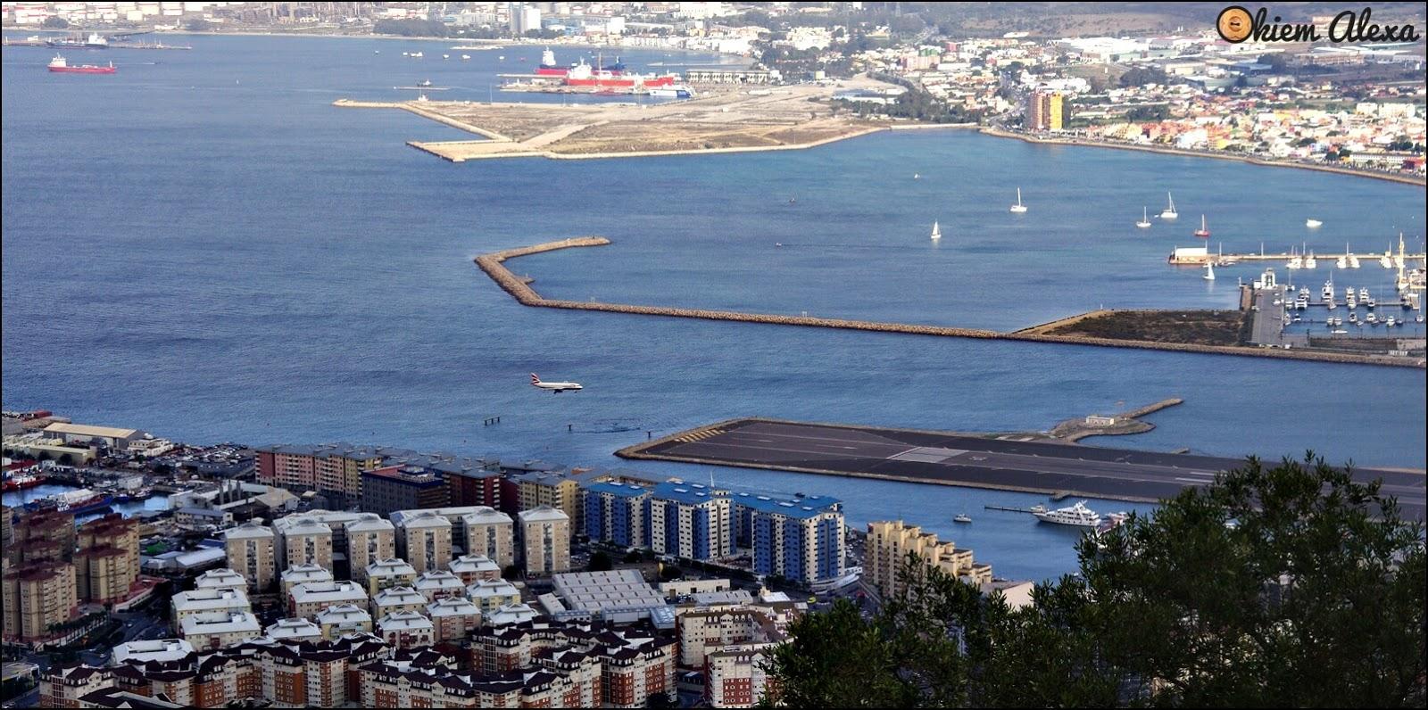 Gibraltar, lotnisko