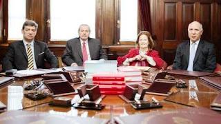 Por unanimidad, los integrantes del máximo tribunal de justicia dispusieron retrotraer las tarifas al esquema que estaba vigente antes de los aumentos establecidos por el Ministerio de Energía, a cargo de Juan José Aranguren.