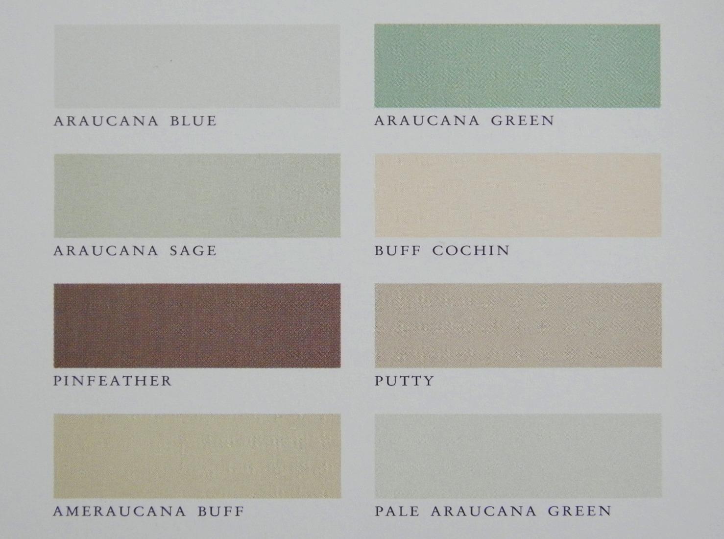 Martha By Mail The Araucana Colors