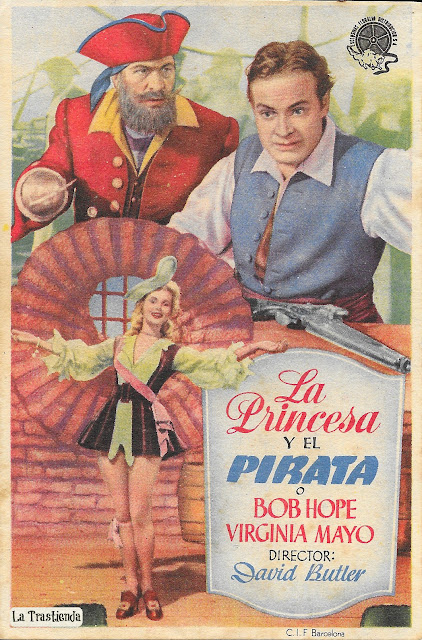 La Princesa y El Pirata - Programa de cine - Bob Hope - Virginia Mayo