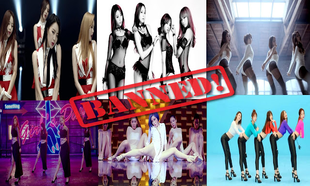 10 MV Girlband Korea Paling Seksi Hingga Di Larang Tayang