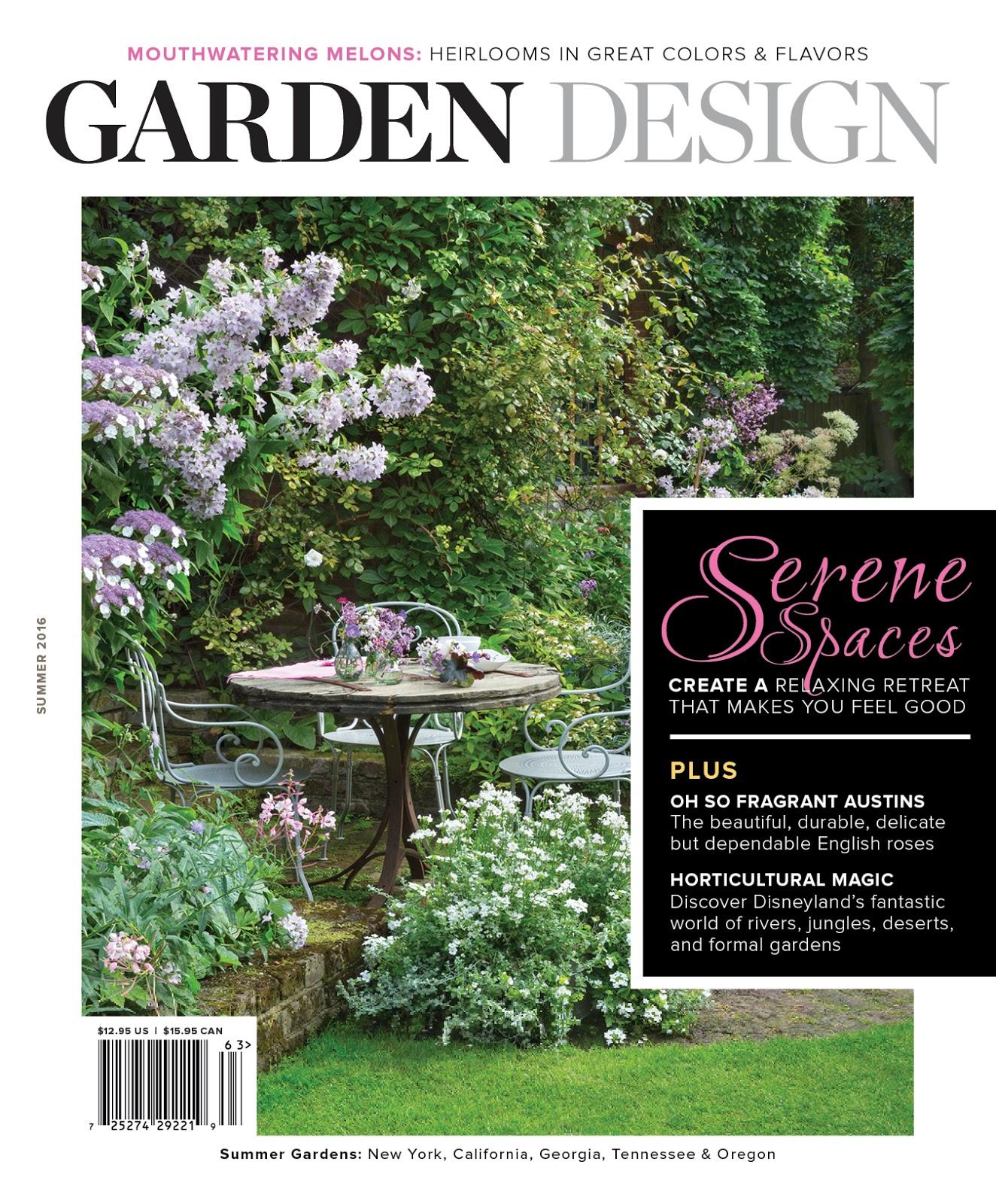 Garden Design Magazine My Tips and Interview