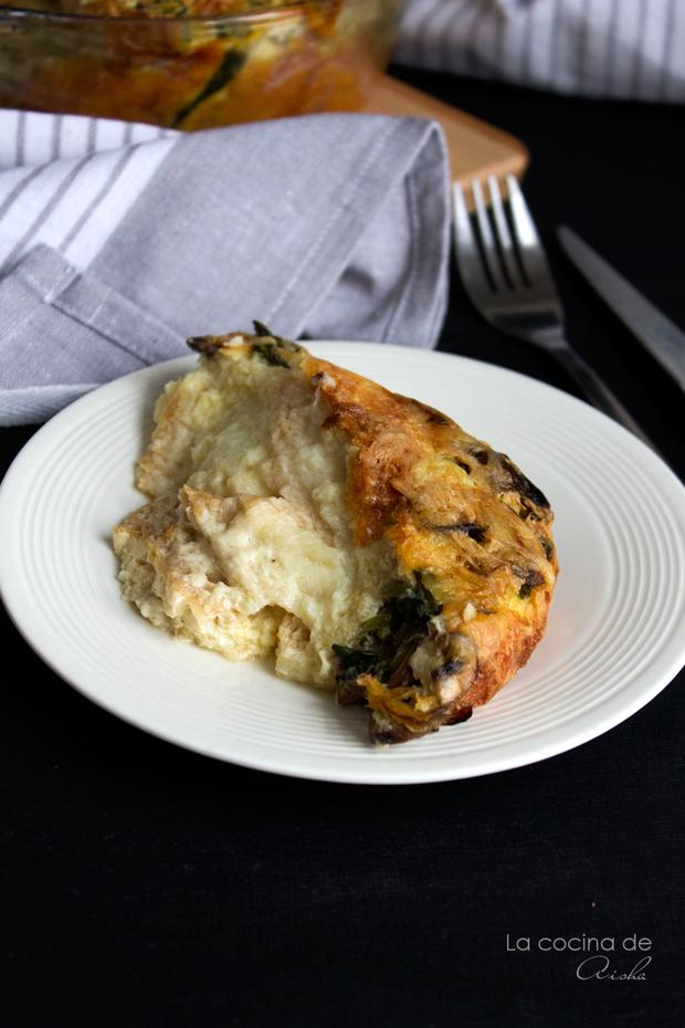 mushroom-leek-spinac-pudding