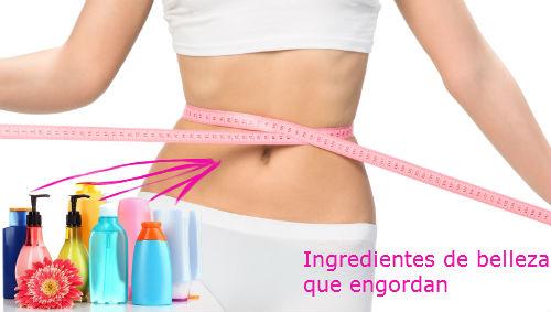 productos de belleza que engordan