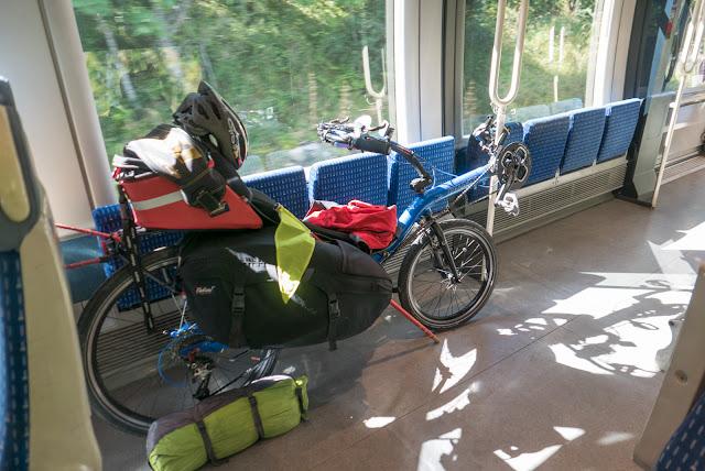 Voyage à vélo de la Bourgogne à la Provence, en train