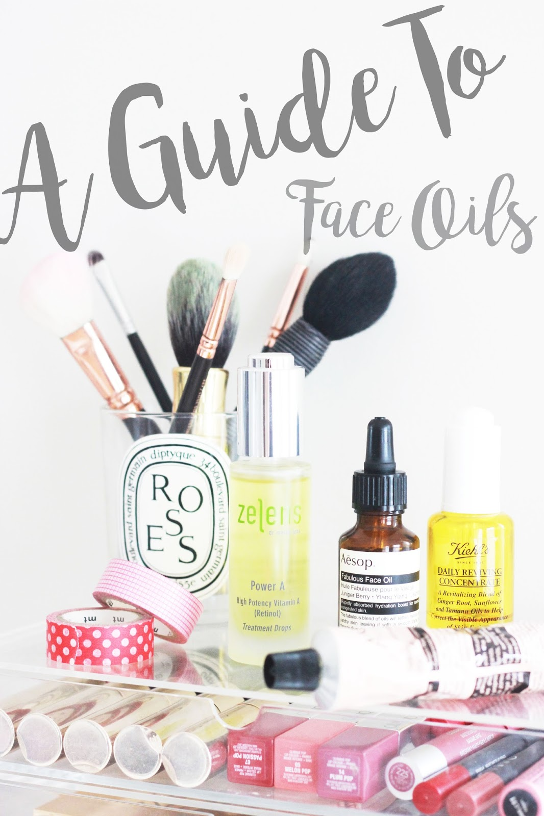 A Guide To Face Oils
