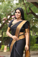 Poorna in Cute Backless Choli Saree Stunning Beauty at Avantika Movie platinum Disc Function ~  Exclusive 138.JPG