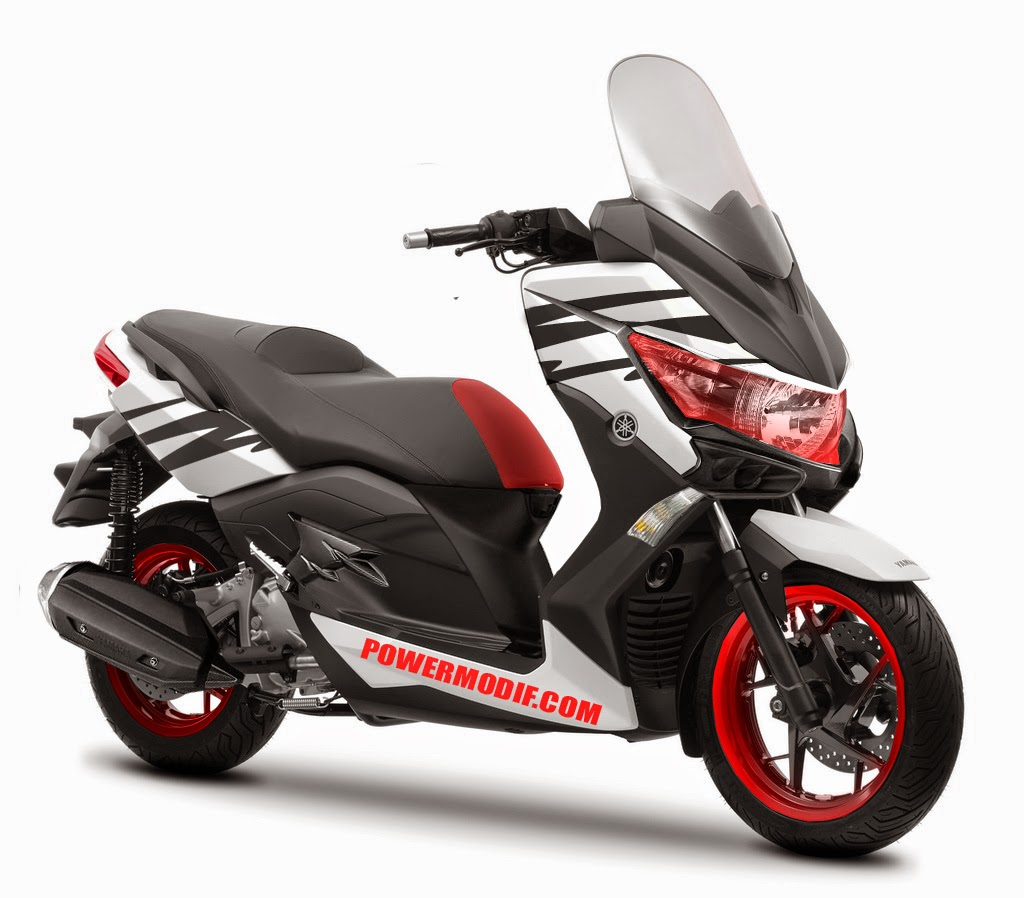 modifikasi yamaha nmax sepeda motor