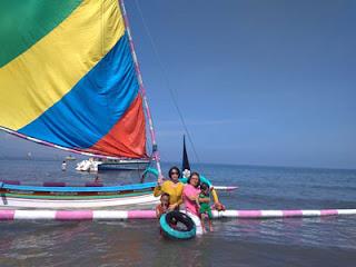 Kapal Nelayan sebagai spot foto yang menarik