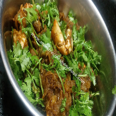 Crab Masala Curry Recipe Andhra Style How to Cook
