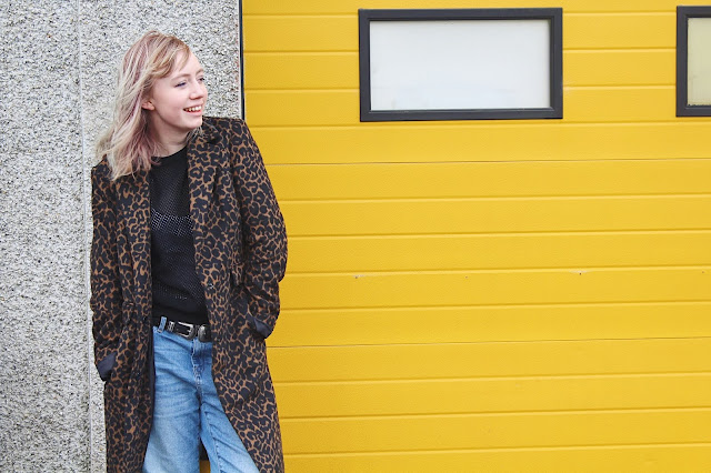 leopardprint, coat, denim