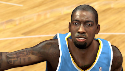 NBA2K14 JJ Hickson Cyberface Patch