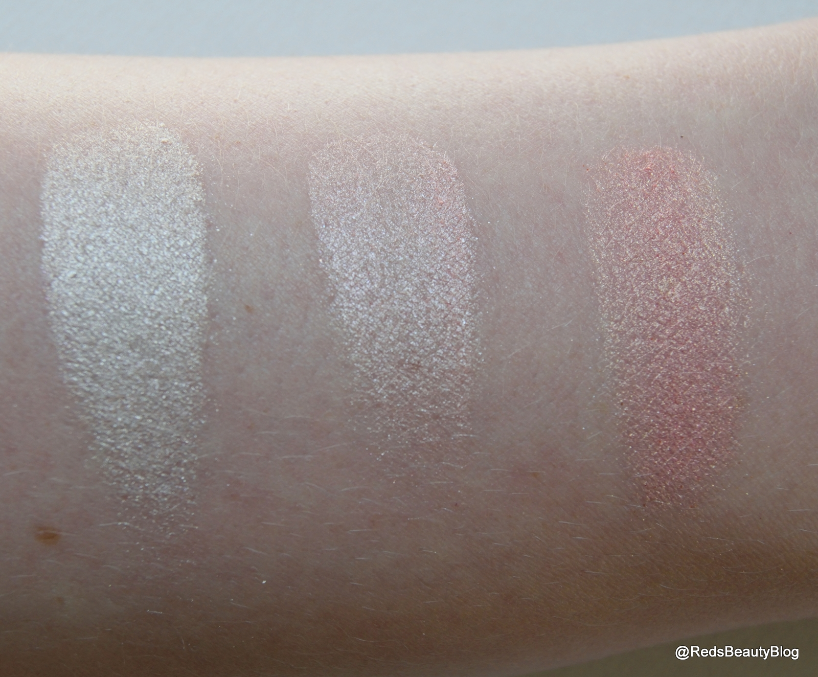 A picture of Makeup Revolution Blushing Hearts in Iced Hearts