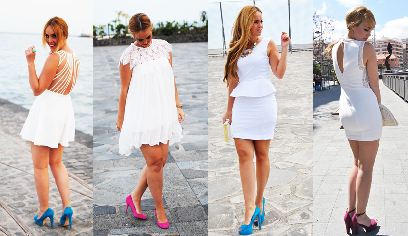 Nery Hdez, SNB BLOG, WHITE DRESS, VESTIDO BLANCO