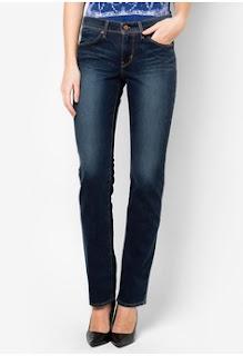 mari bergaya dengan jeans Levi