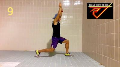 Treino força - resistência e reforço muscular corredores - runners