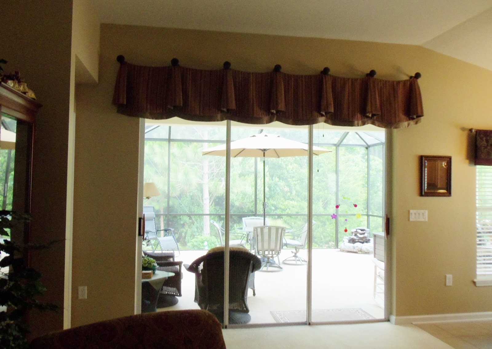 Pictures Of Window Treatments For Sliding Patio Doors: Making Your Home Sing: A New Window Treatment Transforms A