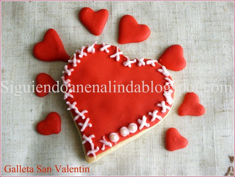 Siguiendo a nenalinda galletas corazon para regalar por for Que regalar por san valentin