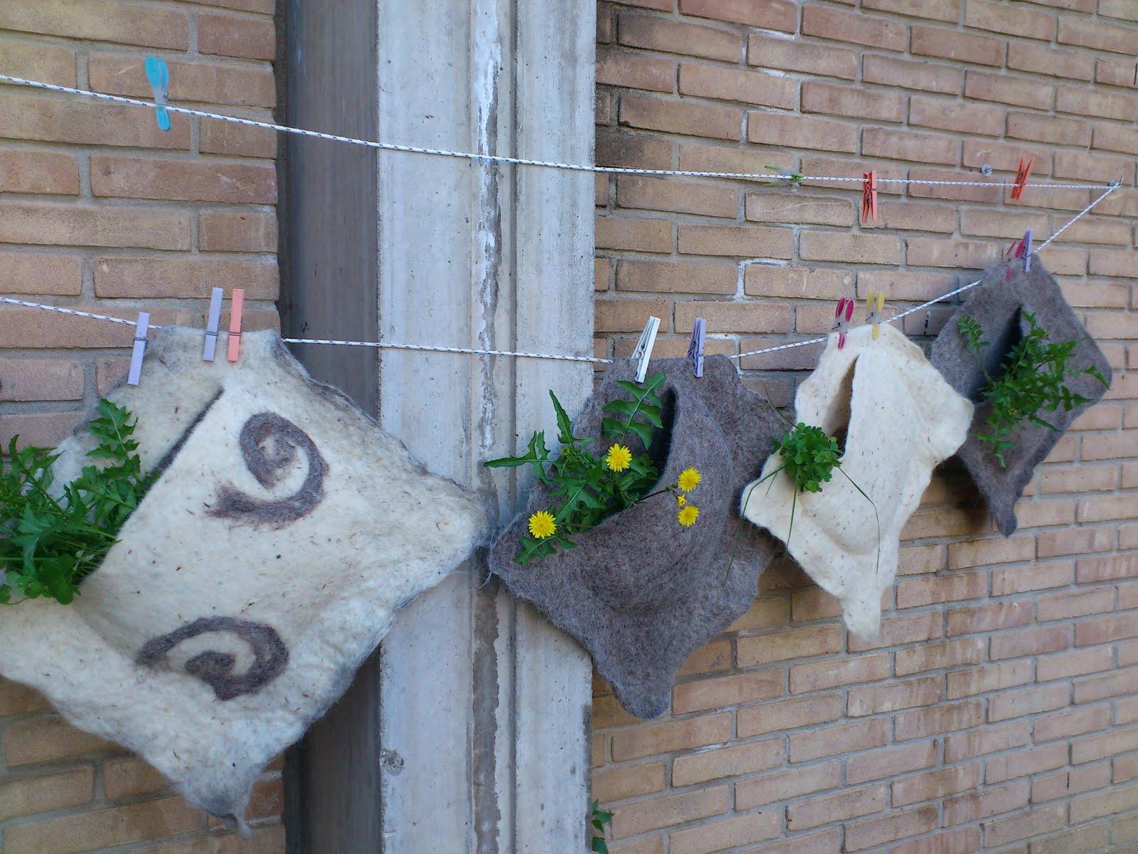 Il gregge del feltro a mano laboratorio 18 marzo 2012 - Moduli per giardino verticale ...