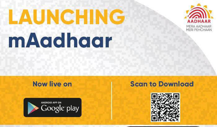 "Official Aadhaar App ""mAadhaar"" Now Available For Android"