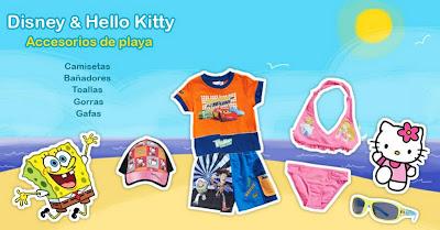 Venta de ropa Disney y Hello Kitty al mejor precio