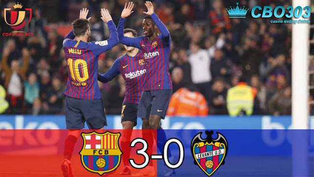 Video Highlights dan Cuplikan Gol Barcelona vs Levante