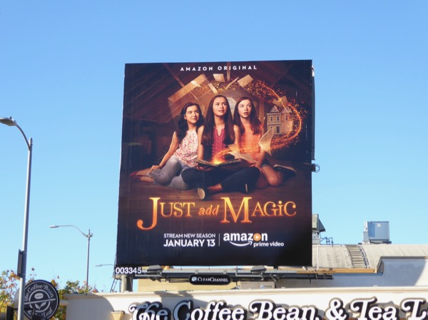 Just Add Magic season 2 billboard