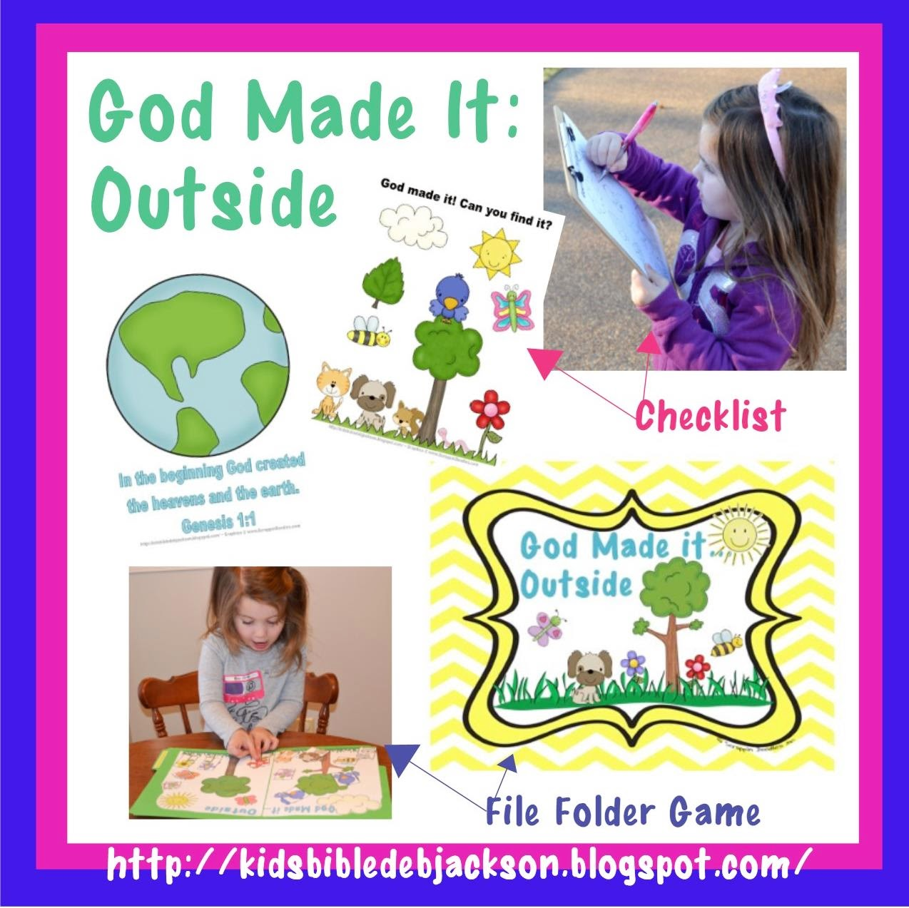 http://kidsbibledebjackson.blogspot.com/2014/04/god-made-it-outside-checklist.html