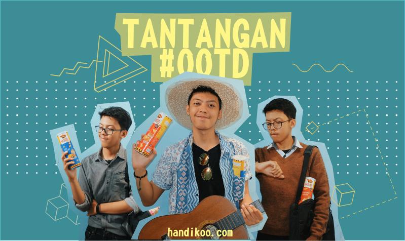 Tantangan #OOTD bersama Diko