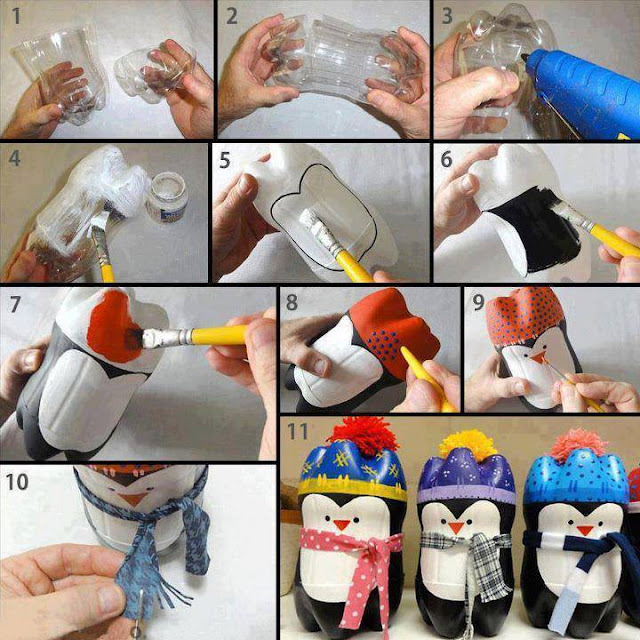 bottle plastic craft