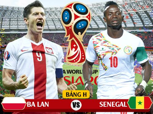 Link trực tiếp Ba Lan vs Senegal tiếng Việt đêm nay