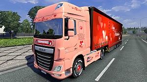 Valentine's Day DAF skin + trailer