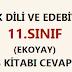 11. Sınıf Türk Dili ve Edebiyatı Ekoyay Yayınları 54. Sayfa Cevapları