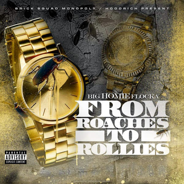 Waka Flocka - From Roaches to Rollies - iTunes Mixtape Cover