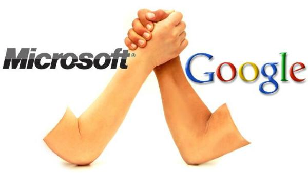 مايكروسوفت تتفوق على جوجل لأول مرة منذ سنوات