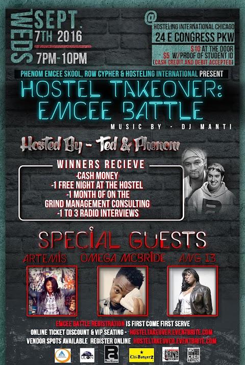 CHICAGO EVENT: EMCEE BATTLE - SEPT 7