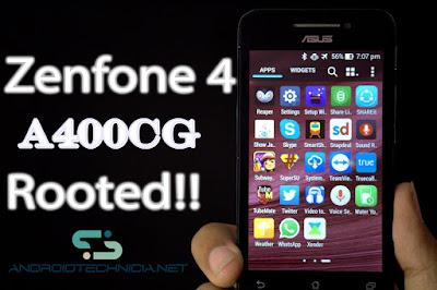 Cara Root ASUS Zenfone 4 (A400CG) Tanpa PC