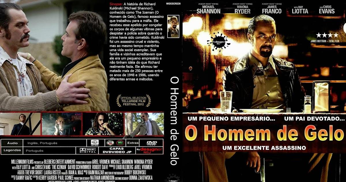 CAPAS DVD VIDEO JP: O HOMEM DE GELO