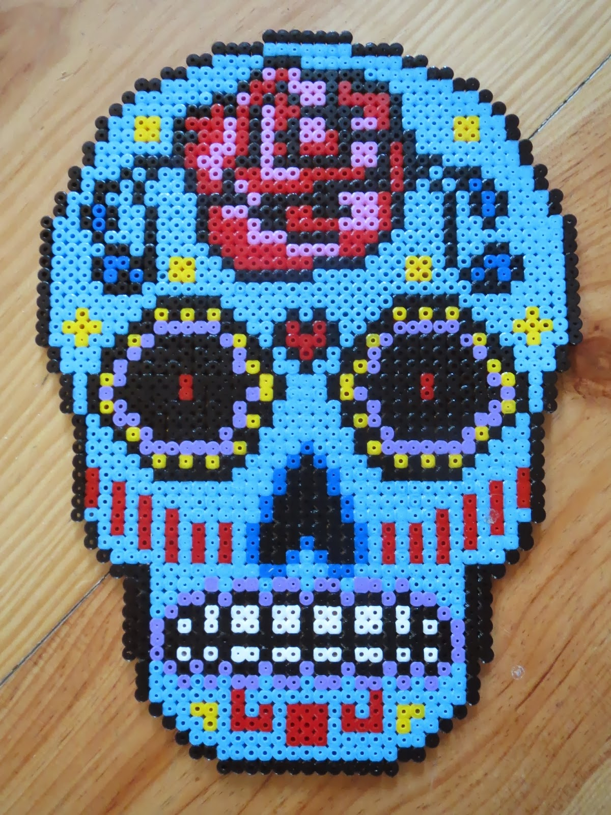 Crochet Tutorial: Sugar Skull Ski Mask - YARNutopia by Nadia Fuad ... | 1600x1200