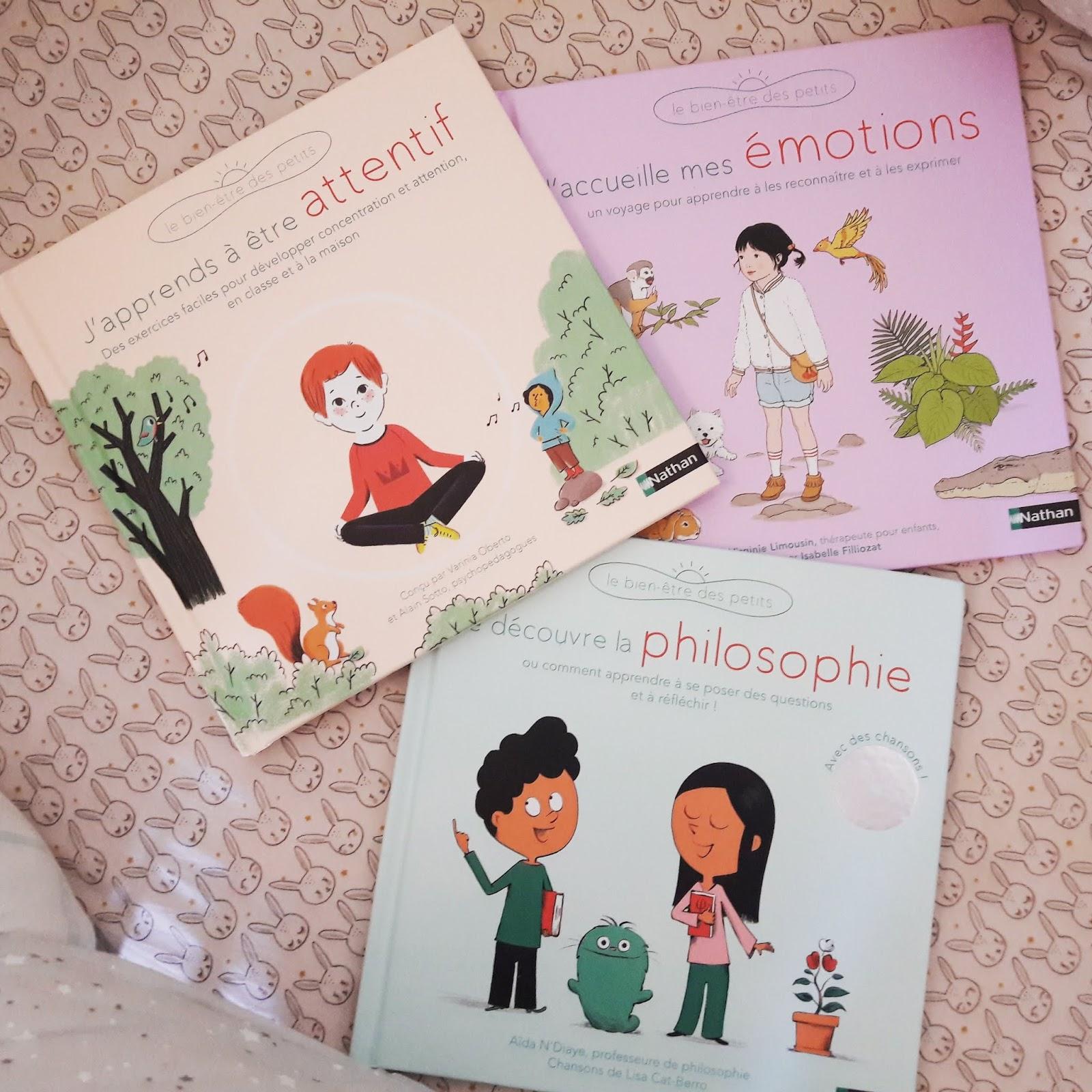 3 livres pour aider son enfant à grandir sereinement