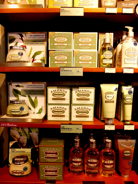 L'occitane, Breda, beauty, beautyblog, beautyblogger, bblog, bblogger, cream, bodylotion, scrub, perfume, handcream, skin, body, LaVieFleurit.com,