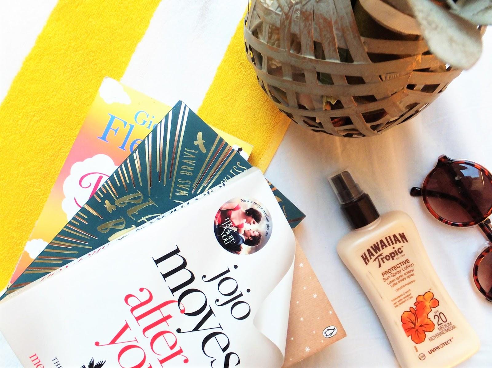 Pineapple-Beach-Towel-Sunglasses-Suncream-Books
