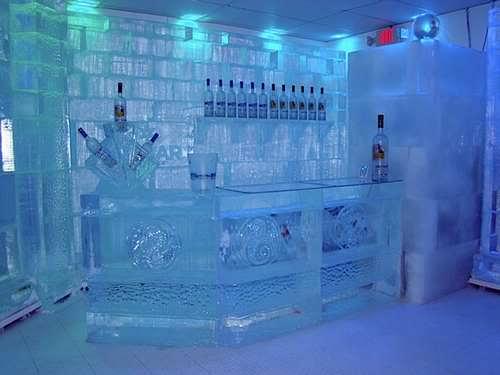 Como é o Ice Bar em Orlando