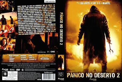 Filme Pânico no Deserto 2 DVD Capa