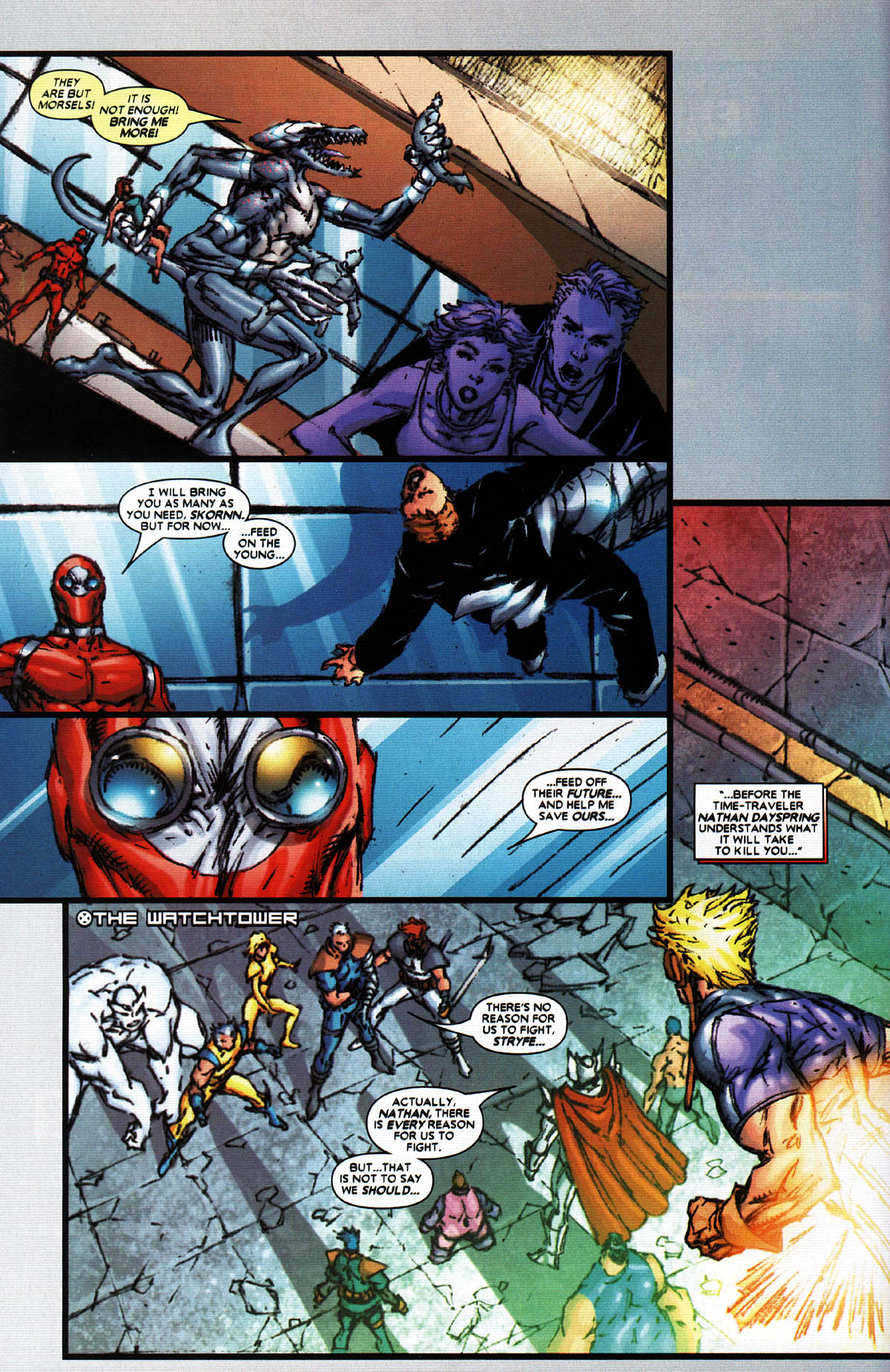 Read online X-Force (2004) comic -  Issue #5 - 13
