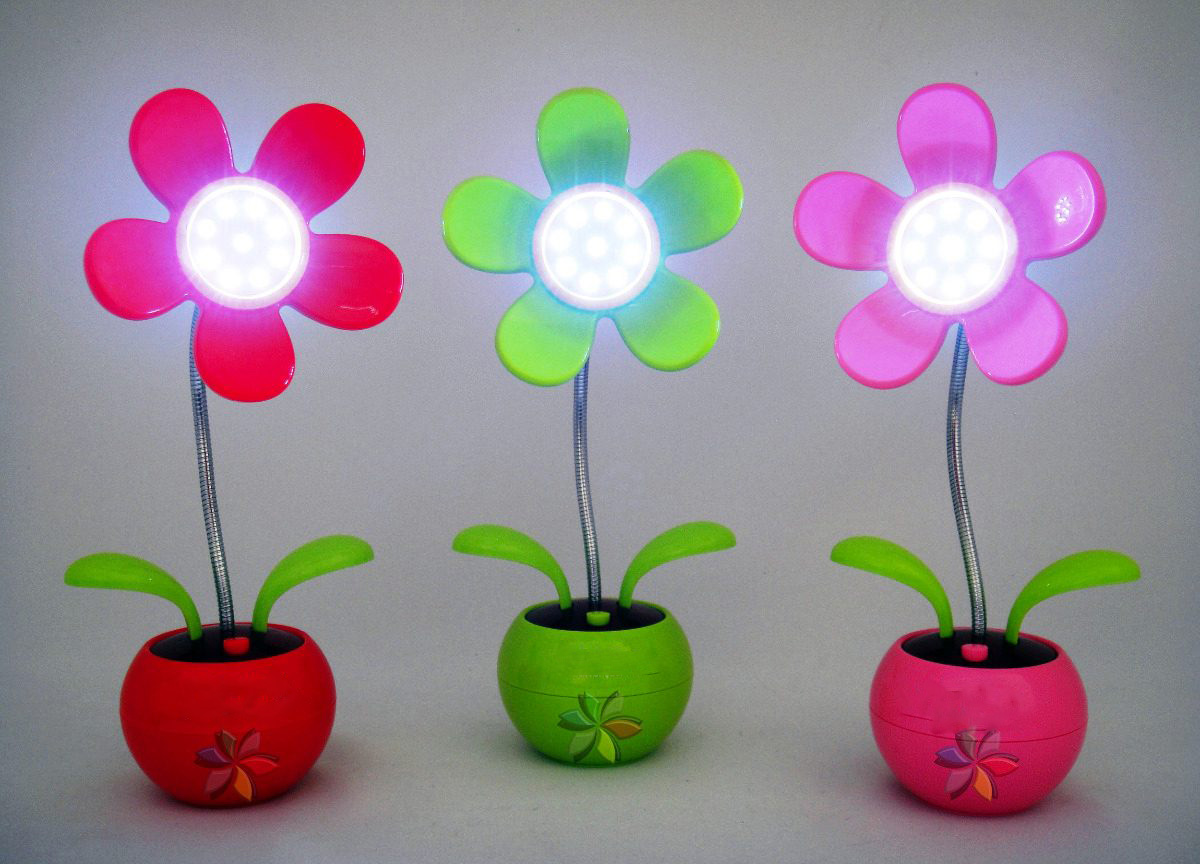 design 2013 Design Floral Modelos de lâmpadas